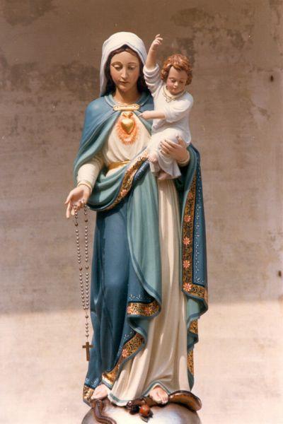 Jésus indique sa mère